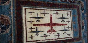 Drone Rug - Afghan war rug