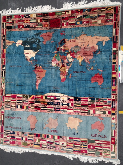 War rug patterns organized by style this large world map rug features very detailed and well drawn depictions of the countries of the world labeled in english the map features latitude and gumiabroncs Gallery