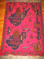 Landscape Pictorial War Rugs